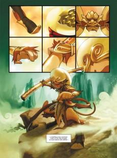 Extrait de Le dieu singe -1- Volume 1