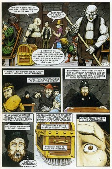 Extrait de Discworld graphic novels (The) - The discworld graphic novels