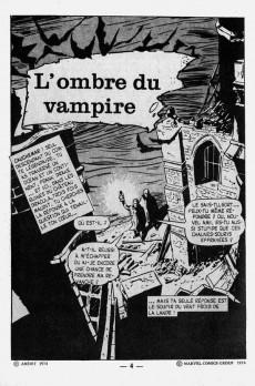 Extrait de Dracula (Aredit - Comics Pocket) -2- L'ombre du vampire