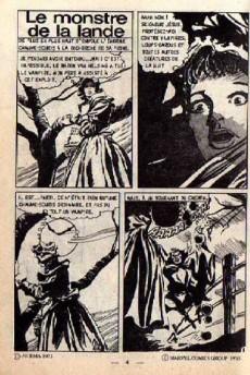 Extrait de Dracula (Aredit - Comics Pocket) -4- Le Monstre de la lande !