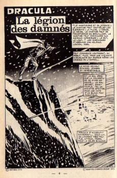 Extrait de Dracula (Aredit - Comics Pocket) -5- La légion des damnés