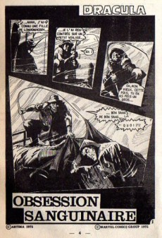 Extrait de Dracula (Aredit - Comics Pocket) -6- Obsession sanguinaire