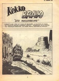 Extrait de El Bravo (Mon Journal) -49- Les massacreurs