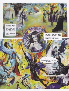 Extrait de Fa-Seiryu -1- La légende du dragon-planète