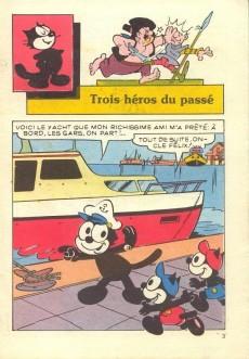 Extrait de Félix le Chat (2e Série - Editions du Château) -14- Trois héros du passé