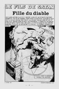 Extrait de Le fils de Satan -7- Fille du diable