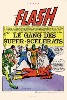 Extrait de Flash (Arédit - Pop Magazine/Cosmos/Flash) -13- Le gang des super-scélérats