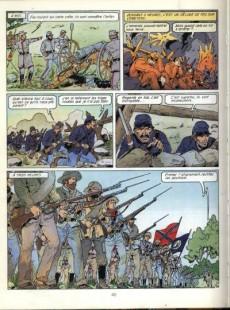 Extrait de Les grandes batailles de l'histoire en BD -8- La guerre de sécession, de Bull run à Appomatox