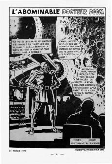 Extrait de L'inattendu (Arédit) -1- L'abominable Docteur Doom