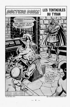 Extrait de L'inattendu (Arédit) -3- Docteur Doom : les tentacules du tyran