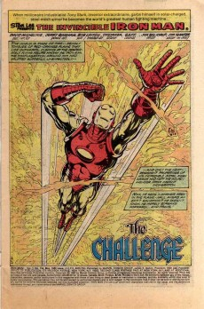 Extrait de Iron Man Vol.1 (Marvel comics - 1968) -134- The challenge