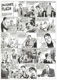 Extrait de Jacques Flash (Taupinambour) -1- Contre l'homme invisible