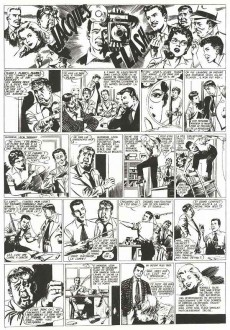 Extrait de Jacques Flash (Taupinambour) -2- Jeux de mains jeux de vilains