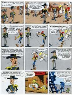 Extrait de Lucky Luke -27Ind- Le 20ème de cavalerie