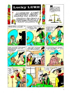 Extrait de Lucky Luke (Intégrale Dupuis/Dargaud) -4b09- Volume 4 - (1956-1957)