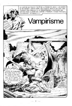 Extrait de La maison du Mystère (Arédit) -3- Vampirisme