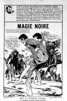 Extrait de Le manoir des fantômes (1re série - Arédit - Comics Pocket)  -10- Magie noire