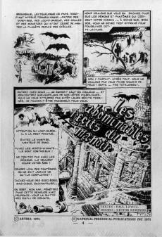 Extrait de Le manoir des fantômes (1re série - Arédit - Comics Pocket)  -1- Les abominables récits du manoir
