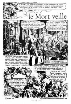 Extrait de Le manoir des fantômes (1re série - Arédit - Comics Pocket)  -4- Le mort veille