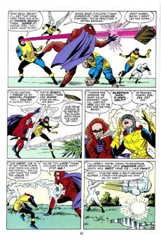 Extrait de Marvel Masterworks (1987) -3- The X-Men n° 1-10