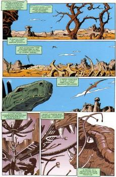 Extrait de Megasauria -1- Avalanches