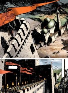 Extrait de Merlin - La quête de l'épée -2- La forteresse de kunjir
