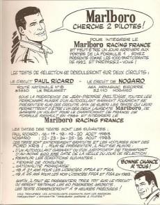 Extrait de Michel Vaillant -42Pub- Duels de champions