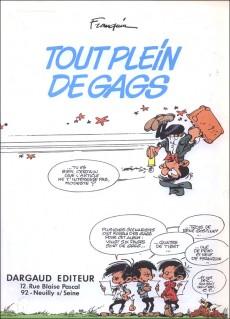 Extrait de Modeste et Pompon (Franquin) -3- Tout plein de gags