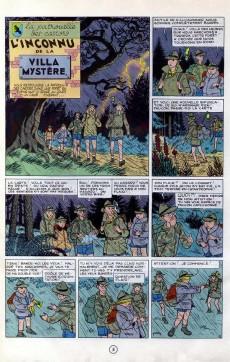 Extrait de La patrouille des Castors -3- L'Inconnu de la Villa Mystère