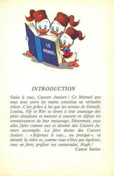 Extrait de Manuel des Castors Juniors - Tome 1