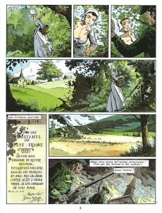Extrait de Les pionniers du Nouveau Monde -6c2006- La mort du loup