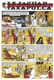 Extrait de Pompon Rouge (Les Aventures du) -10- Le Jaguar de Taxapulca