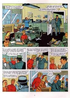 Extrait de Ric Hochet -10a1978- Les 5 revenants