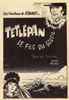 Extrait de Ringo (SFPI) -11- Tetlepan le fils du soleil