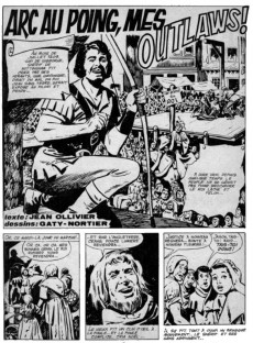 Extrait de Robin (Les Exploits de) -1- Le magazine des chevaliers d'aventures n°1
