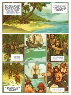 Extrait de Sept -3- Sept pirates