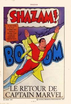 Extrait de Shazam! Les aventures de Captain Marvel -1- Le retour de Captain Marvel