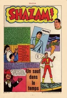 Extrait de Shazam! Les aventures de Captain Marvel -3- Un saut dans le temps