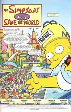 Extrait de Simpsons Comics (1993) -156- Save the world