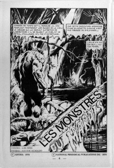 Extrait de Spectral (1re série) -10- Les monstres du marais