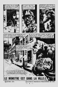 Extrait de Spectral (1re série) -6- Le monstre est dans la ville