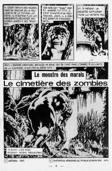 Extrait de Spectral (1re série) -9- Le cimetière des zombies