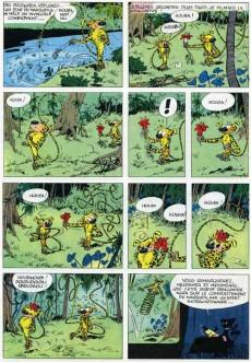 Extrait de Spirou et Fantasio -12a64- Le nid des Marsupilamis