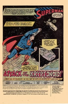 Extrait de Superman (1939) -328- Attack of the kryptonoid