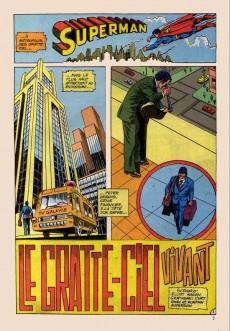 Extrait de Superman Bimestriel (Sagédition) -1- Le gratte-ciel vivant