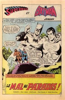 Extrait de Superman Bimestriel (Sagédition) -3- Le mal au paradis !