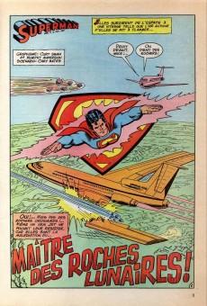 Extrait de Superman Bimestriel (Sagédition) -4- Maitre des roches lunaires