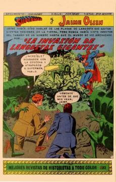 Extrait de Superman (en espagnol) -952- La invasión de langostas gigantes