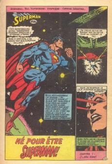 Extrait de Superman (Poche) (Sagédition) -100- Né pour être superman