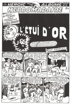 Extrait de Tif et Tondu (Taupinambour) -1- Tome 1